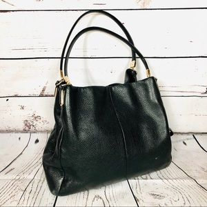Coach Pebbled Leather Madison Phoebe Shoulder Bag
